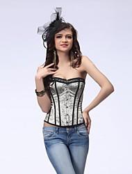Frauen Sexy Satin-Korsett Shapewear