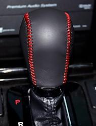 XuJi ™ Black Genuine Leather Gear Shift Knob Cover for Honda Spirior 2009-2013 Automatic