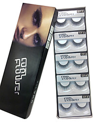 10 pairs coolflower false eyelashes cf-6