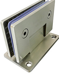 90mm × 90mm Durable Stainless Steel For Frameless Door Hinge