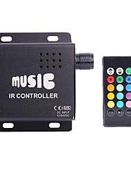 z®zdm DC12-24V comum ir ânodo dois Strip RGB 24key tira conduzida controlador remoto (não pode ligar áudio)