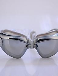 Electrodeposici super hermosa de colores nadando Gafas Plata
