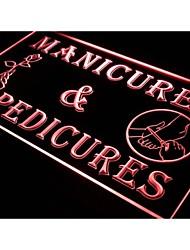 i592 Manicure Pedicure Salão de Beleza Luz Neon Sign