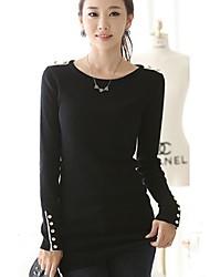 Hanyiou ® Женская Тонкий Хип обновления утолщение свитер