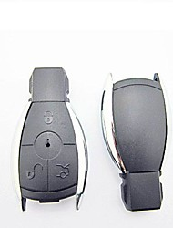 3-Button Remote Smart Key Case for Benz