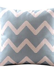 Baumwolle/Leinen Kissenbezug , Winkel Modern/Zeitgenössisch
