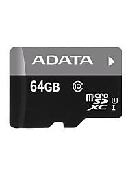 ADATA Premier MicroSDHC / SDXC UHS-я CLASS10 64GB карты памяти