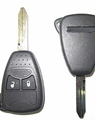 2-Button Remote Key Case for Chrysler