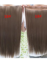 24 Inch  Hot Selling  Clips  Colour  Colorful  Bar  Wholesale  Hair Extension  Girl   Party Beautiful