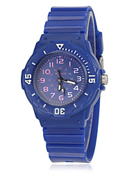 Children's Candy Color Rubber Band Quartz Wrist Watch (Assorted Colors) Cool Watches Unique Watches Fashion Watch