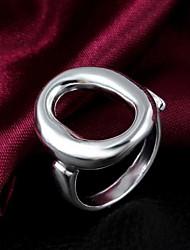 Cadeau de mariage blanc anneau plaqué or