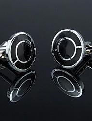 Gemelli Uomo Moda con Double Gironi Design (1pair)