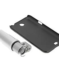 Samsung N7100 Cell Phone Case e 200 volte lente di ingrandimento in Set