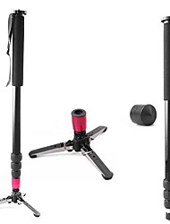 Nova liga filmadora Unipod JF-4 monopé 4 pés Base com Pernas bloqueio de flip para Câmera