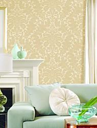 Classique floral pur papier peint