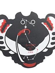 Qianjiatian ® dodici costellazioni dello Scorpione e durevole Mouse Pad