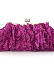 Silk Wedding / Special Occasion Clutches / Evening Handbags with Flower (More Colors)