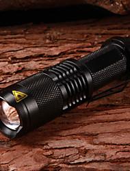 LETO N8 ajustáveis Focus5-Mode 1xCree XM-L T6 impermeáveis lanternas de LED (1x18650, 2000LM, Preto)