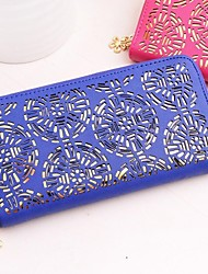 Women's Smackyglam Leather Wallets China Pattern Handbags
