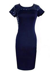 Lishang nuovo vestito di paillettes