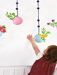 Createforlife® Cartoon Hang Flower Ball Kids Nursery Room Wall Sticker Wall Art Decals