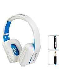 Vykon mq77 superbes 3,5 mm sur l'oreille des écouteurs avec microphone et câble de 1,2 m (couleurs assorties)