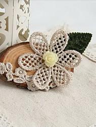 Handmade Hope of Despair Vivid Daisy in Wood White  Sweet Lolita Hairpins