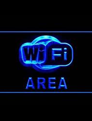 Zona Wi-Fi Publicidad LED muestra ligera