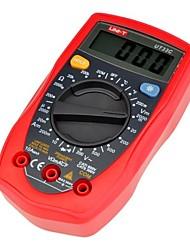 UNI-T ®UT33C Plam Size Digital Multimeter Handheld AC DC Volt Ohm Temperature