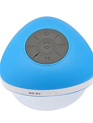 Pretty Mushroom Style Portable Mini Waterproof Bluetooth 2.1+EDR Speaker with A Sucker(Assorted Colors)