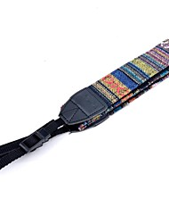 Spalla Camera Neck Strap Vintage Belt for All DSLR (Nikon Canon Sony Pentax, ecc) - Multi