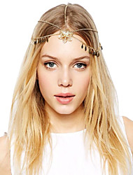 Women Alloy Head Chain , Vintage/Party