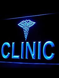 para la publicidad clínica llevó la muestra de la luz