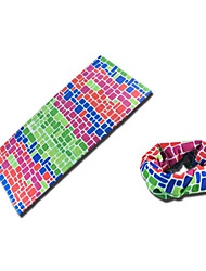 Unisex Sport Neck Gaiters Green / Red / Blue / Light Gold / Fuchsia Free Size Cycling