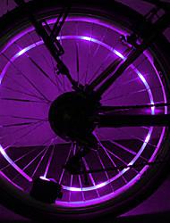 YELVQI PC Roxo Bobina Lamp Ciclismo Hot Roda