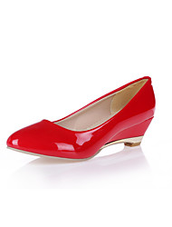 Women's Wedge Heel Round Toe Pumps Shoes(More Colors)