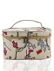 Портативный нейлон Макияж сумка Косметика мешок / сумка с зеркалом
