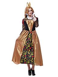 Elegante Queen of Hearts Costume Halloween da poliestere donne