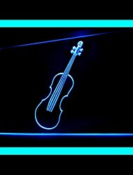 Violins Music Advertising LED Light Sign