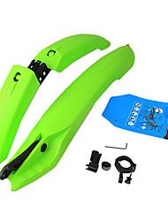 YELVQI Green Plastic Mountain Bike Fender
