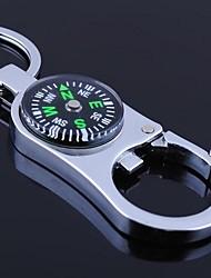 het kompas metaal zilver sleutelhanger speelgoed