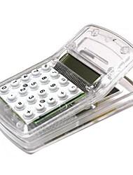 multi-função mini-calculadora com clipe