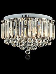 Montagem Embutida Luzes LED de cristal do metal moderno da forma