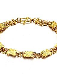 Mme Papillon Type Cuivre Plaquage 18 K Gold Bracelet