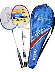 AOPI Aluminium Alloy 2 Stück Integrierte Badminton-Schläger