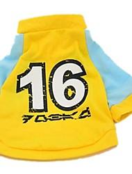 """Cotton Jersey Raglan India """"Football 16"""" Pet T-shirt"""