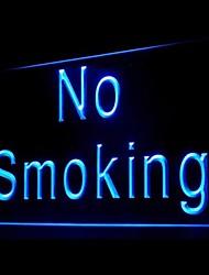 Не курить Реклама светодиодные Вход