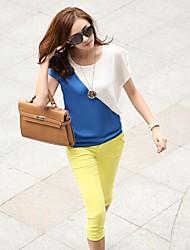 Women's Tops & Blouses , Cotton Blend Casual Fangyage