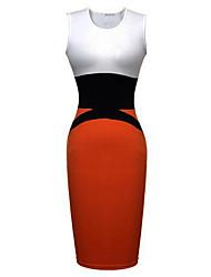 Women's Dresses , Knitwear Work Lishang