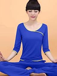 Ioga Conjuntos de Roupas/Ternos Secagem Rápida Wear Sports MulheresIoga / Pilates / Fitness / Esportes Relaxantes